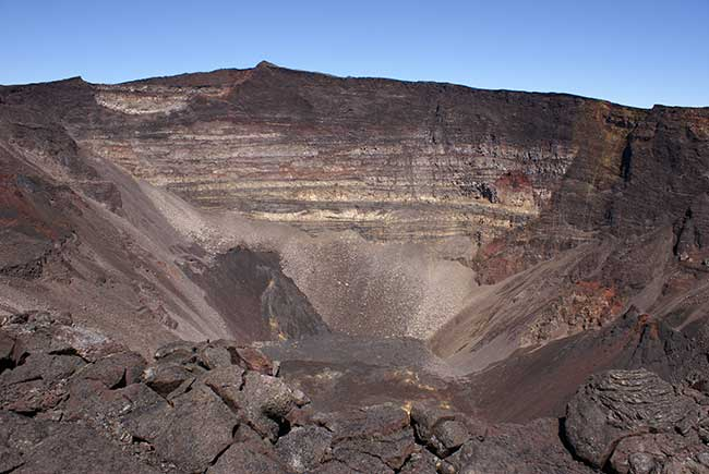 Volcan du piton de la Fournaise − île de La Réunion