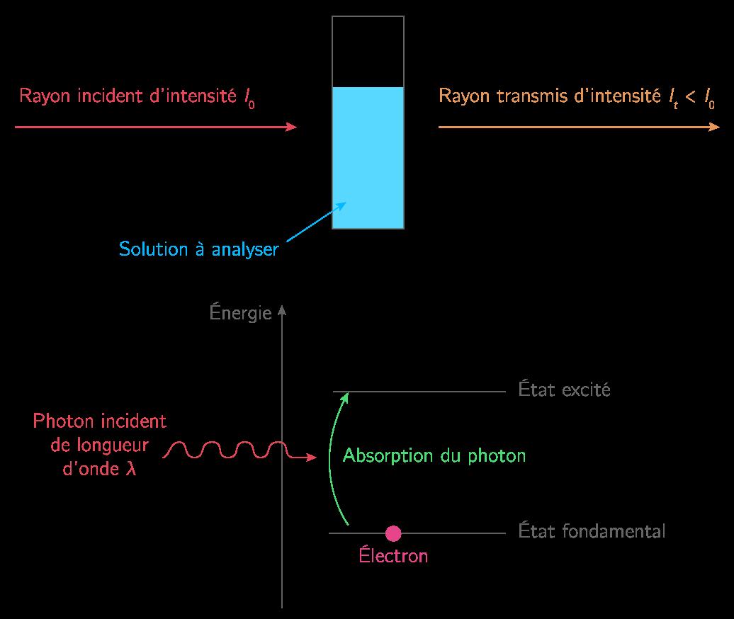 Transitions énergétiques des électrons