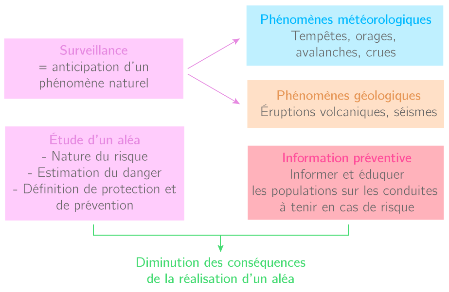 Surveillance et prévision des risques