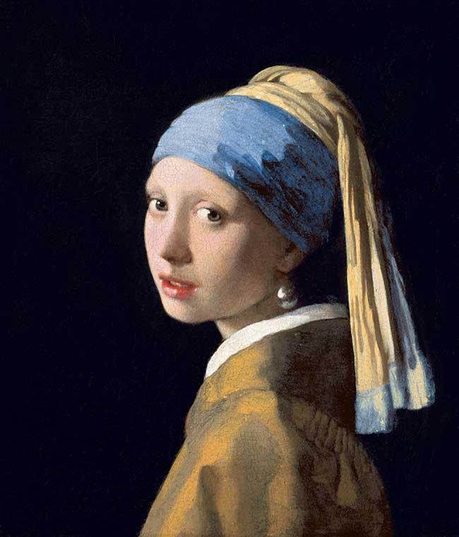 """La Jeune fille à la perle"", Johannes Vermeer"