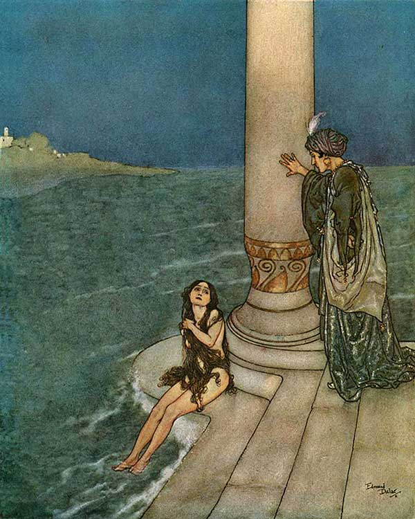 """La Petite Sirène"", Edmond Dulac"