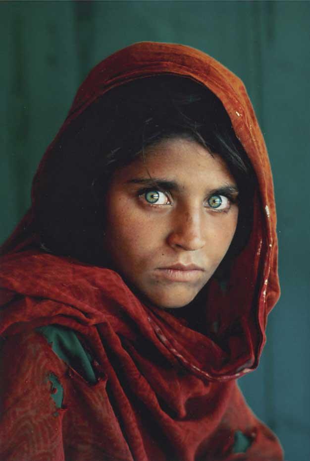"""""""Jeune fille afghane"""", Steve McCurry"""