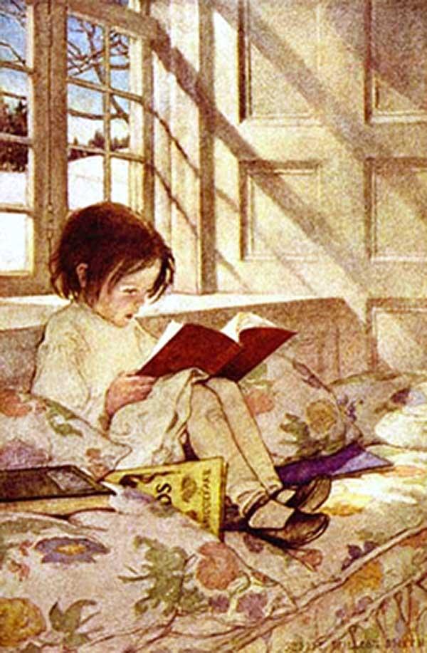 """""""Jardin pour enfant"""", Jessie Willcox Smith"""
