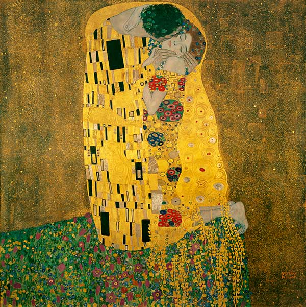 """""""Le Baiser"""", Gustav Klimt"""