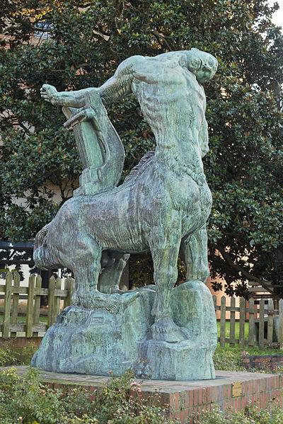 """La Mort du dernier centaure"", Antoine Bourdelle"