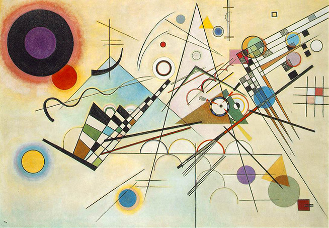 """Composition 8"", Vassily Kandinsky"