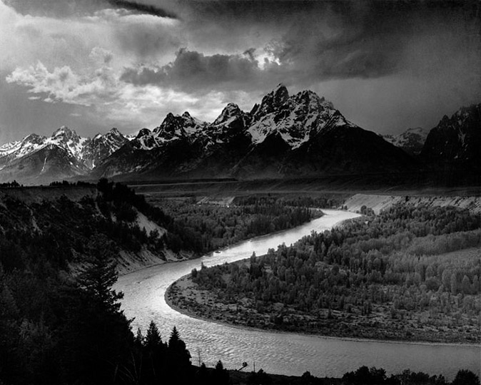 The Tetons and the Snake River, Ansel Adams