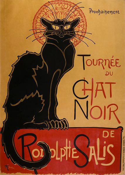 Tournée du Chat Noir de Rodolphe Salis, Alexandre Steinlen