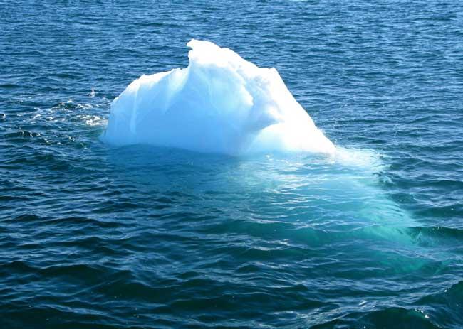 Iceberg bourguignon (Antarctique)