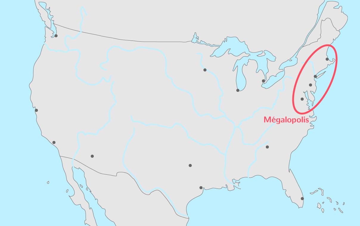 Les 15 premières métropoles des États-Unis