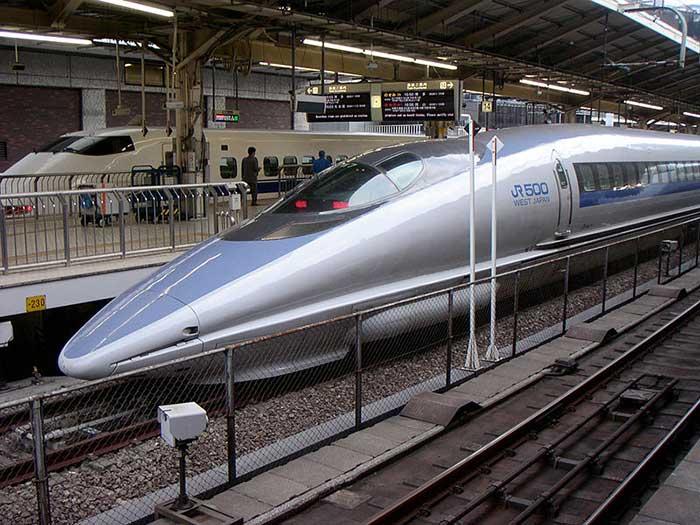 Le Shinkansen au Japon
