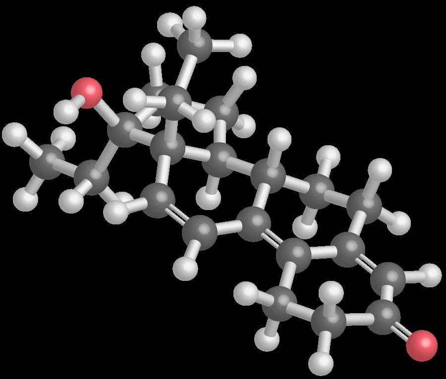 Modèle moléculaire du THG