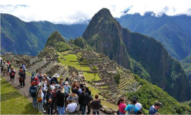 Fotografía de Machu Picchu