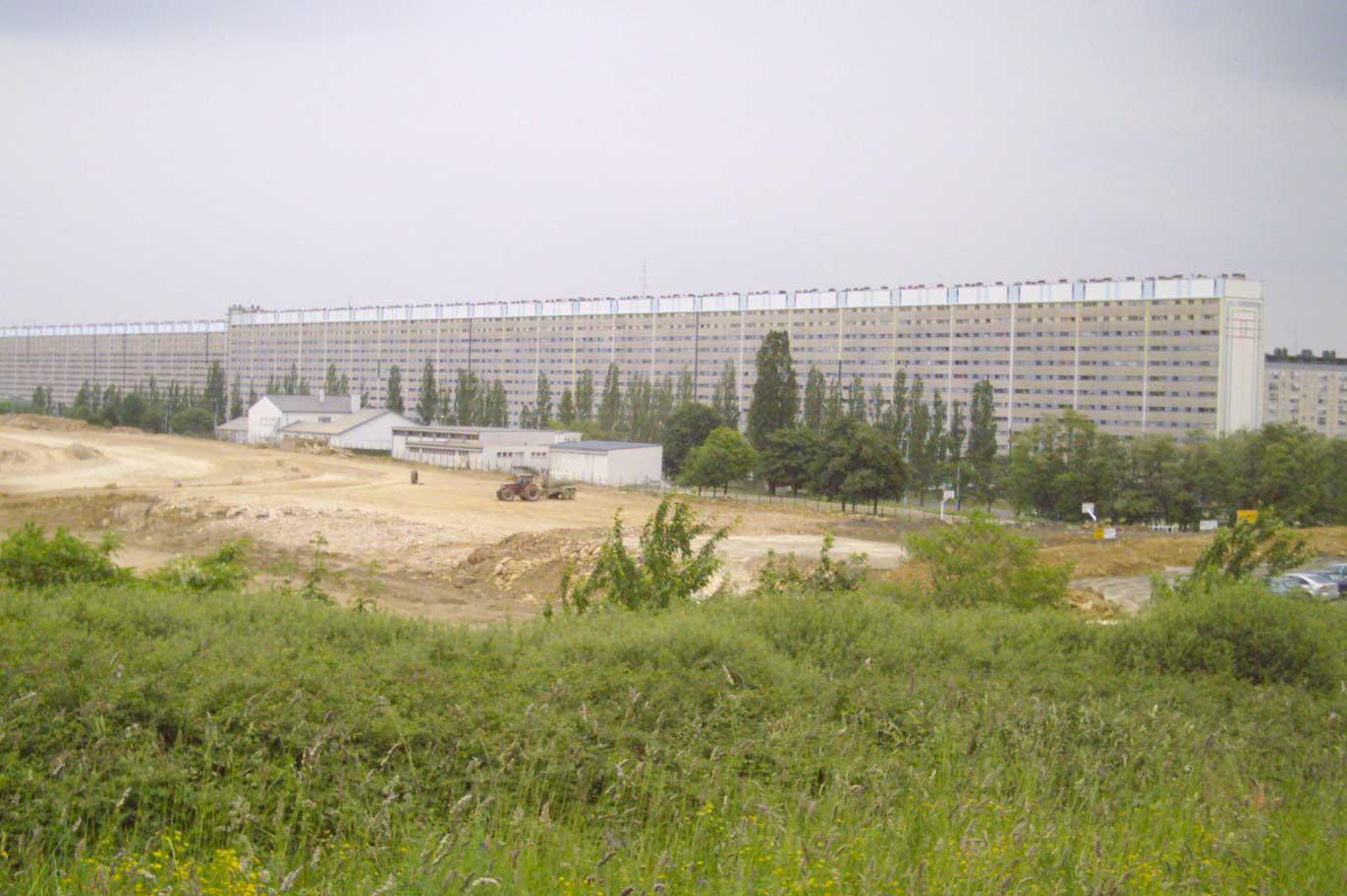 La cité Haut-du-Lièvre à Nancy, une zone défavorisée