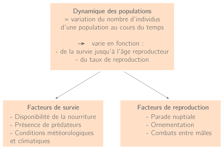 Les causes des dynamiques des populations
