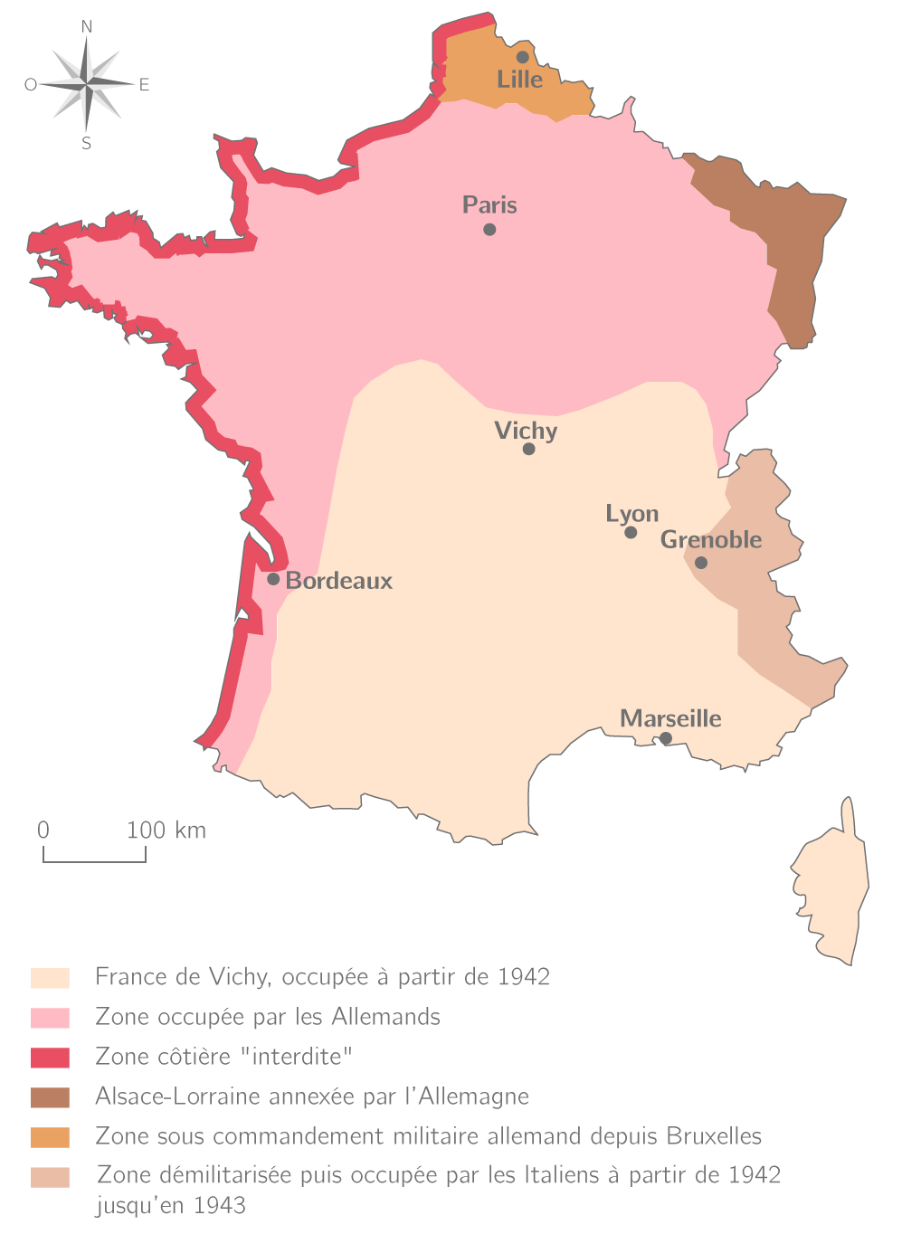 La France occupée