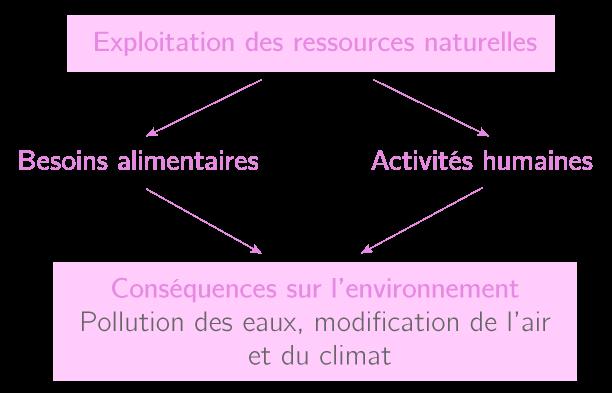 L'exploitation des ressources naturelles par l'Homme