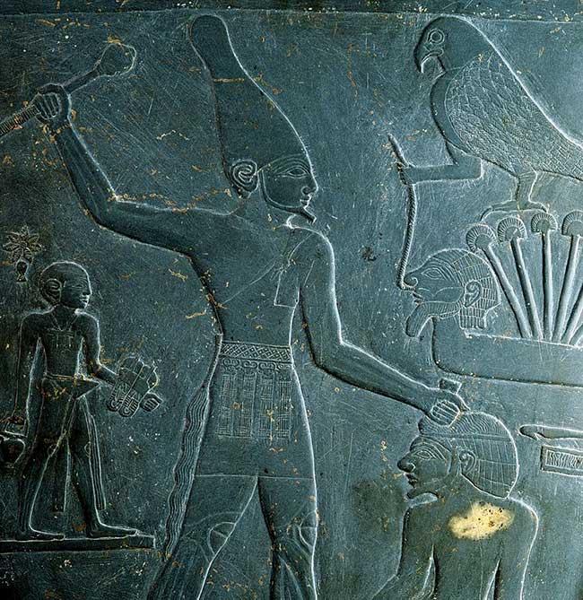 Le pharaon Narmer