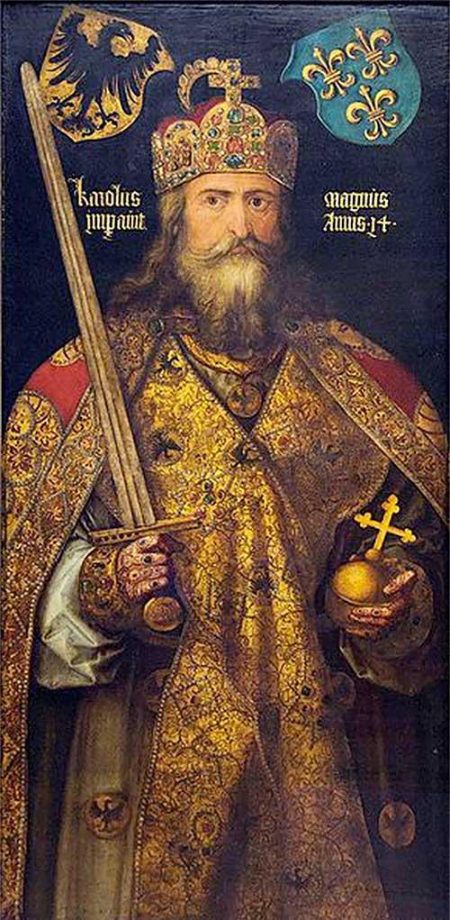 Portrait imaginaire de Charlemagne, 1512