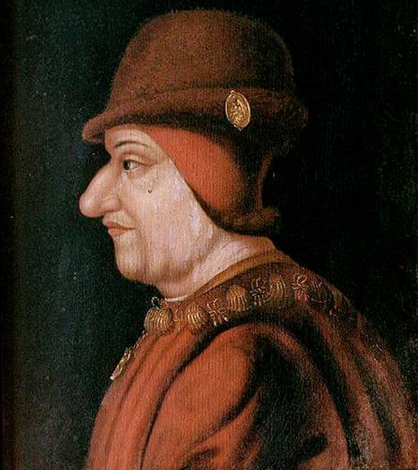 Portrait de Louis XI