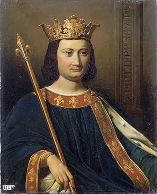 Portrait de Philippe le Bel du XIXe siècle