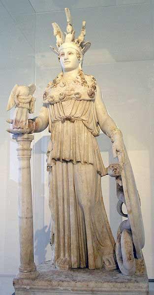 Statue d'Athéna