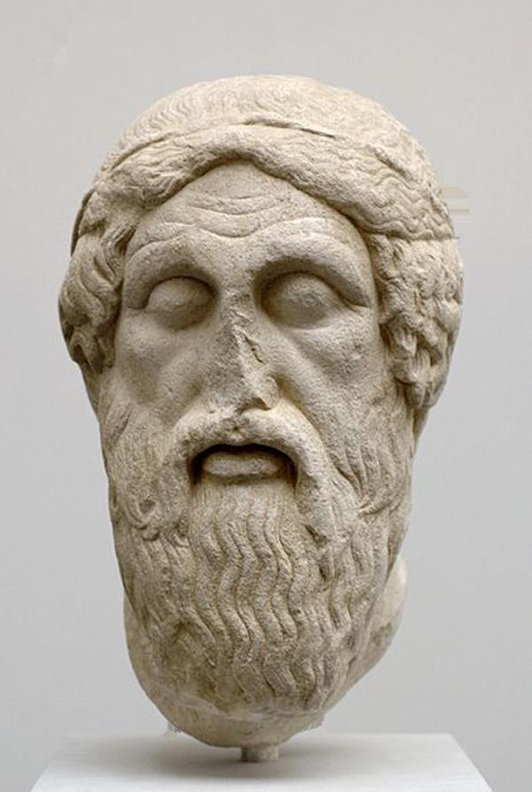 Buste d'Homère