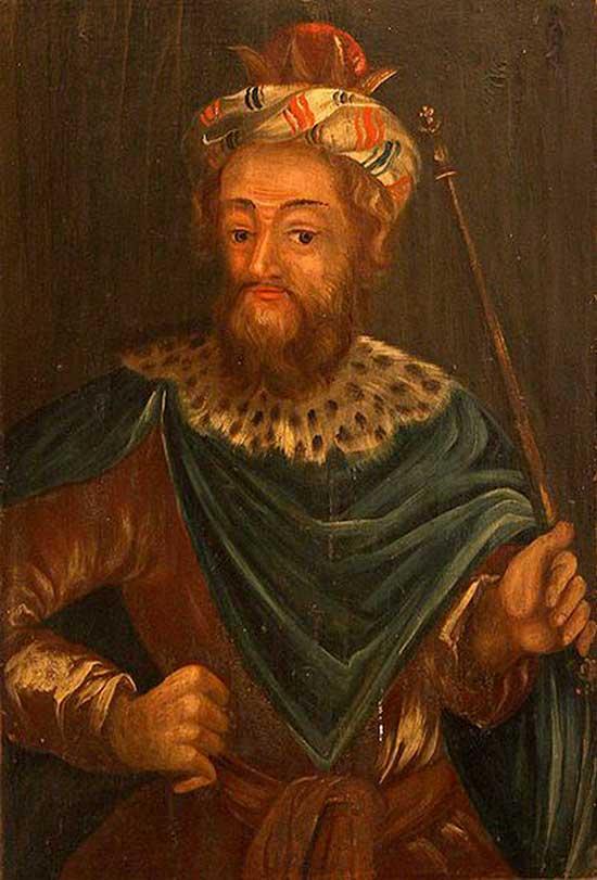 Josias (portrait peint au XVIIe siècle)