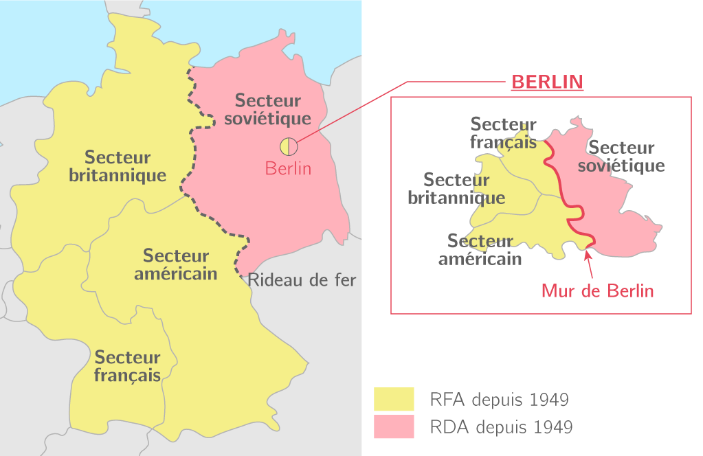 L'Allemagne divisée (1945 − 1989)