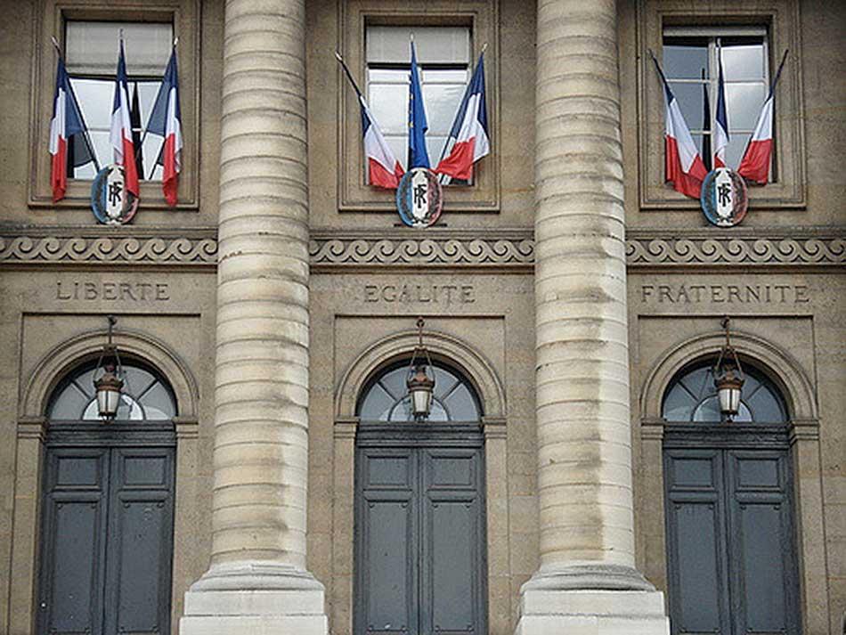 Façade d'un bâtiment parisien