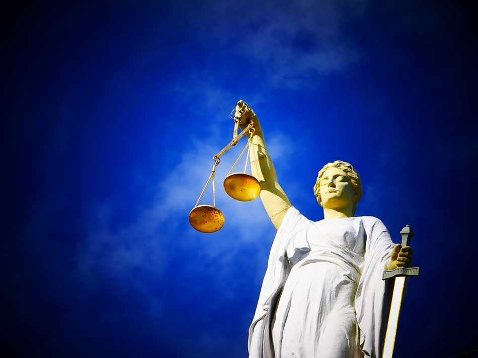 Allégorie de la justice et du droit
