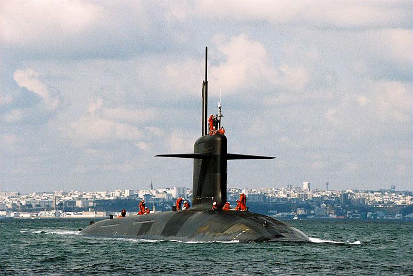 Sous-marin lanceur d'engins français Le Vigilant