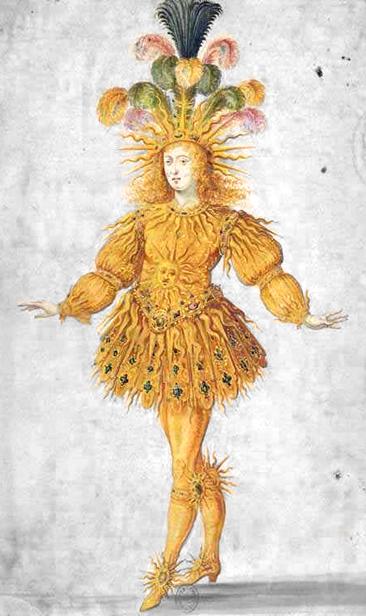 Louis XIV en costume de ballet (1653)