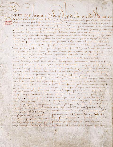 L'édit de Nantes, 30 avril 1598
