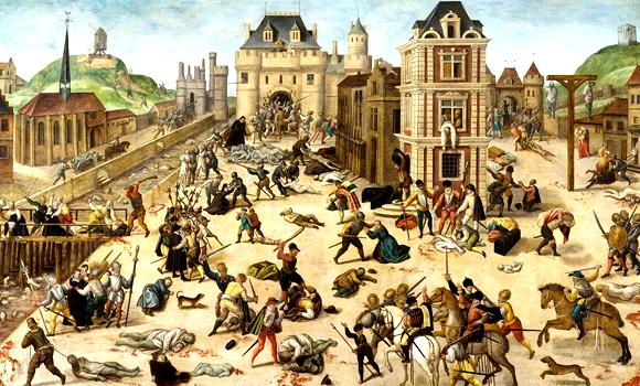 Le Massacre de la Saint-Barthélémy, François Dubois