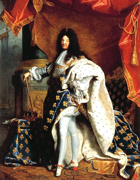 Louis XIV (1638−1715)
