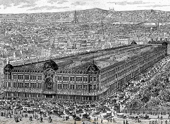 Le Bon Marché en 1887