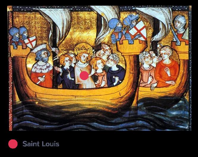 Saint Louis en croisade