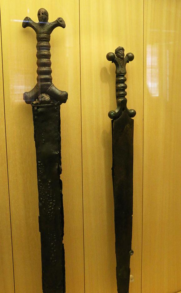 Épées gauloises