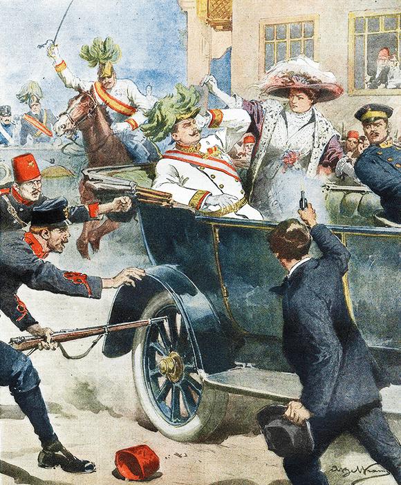 Assassinat de François-Ferdinand, 28 Juin 1914