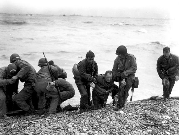 Le débarquement de Normandie le 6 juin 1944
