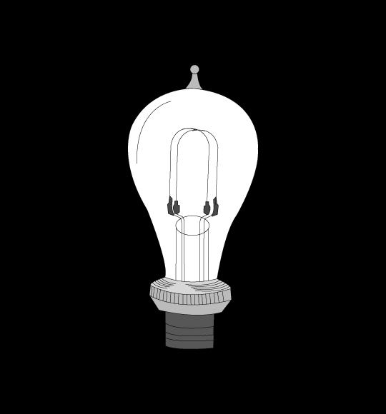 L'ampoule électrique d'Edison, 1879