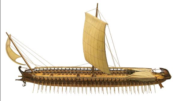 Trière (navire de la glotte grecque)