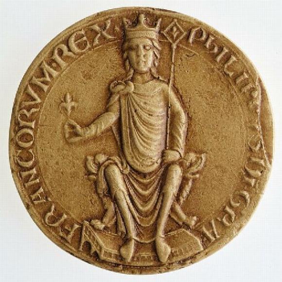 Monnaie du roi Philippe Auguste