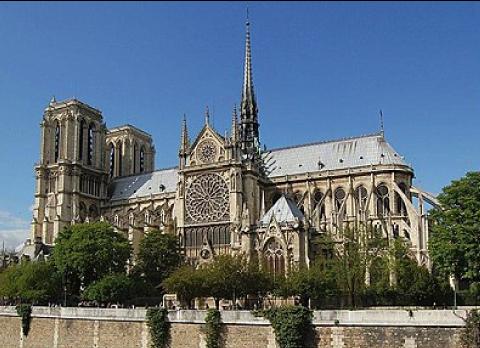La cathédrale de Notre Dame de Paris