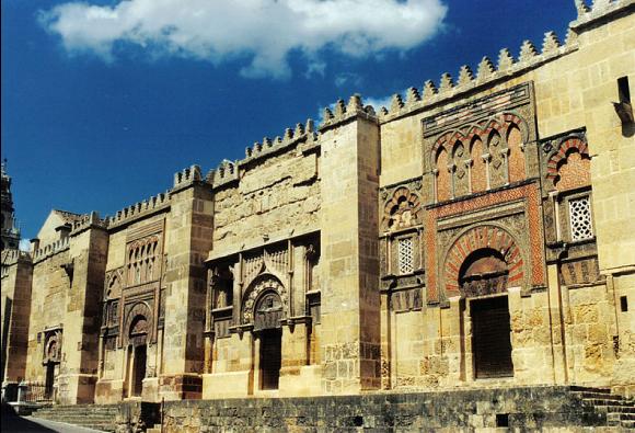 Mosquée de Cordoue construite du VIIIe siècle au Xe siècle