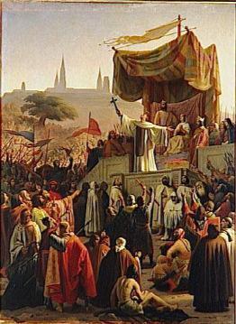 Bernard de Clairvaux prêche la croisade à Vézelay en 1146