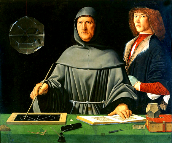 Le mathématicien italien Lucas Pacioli