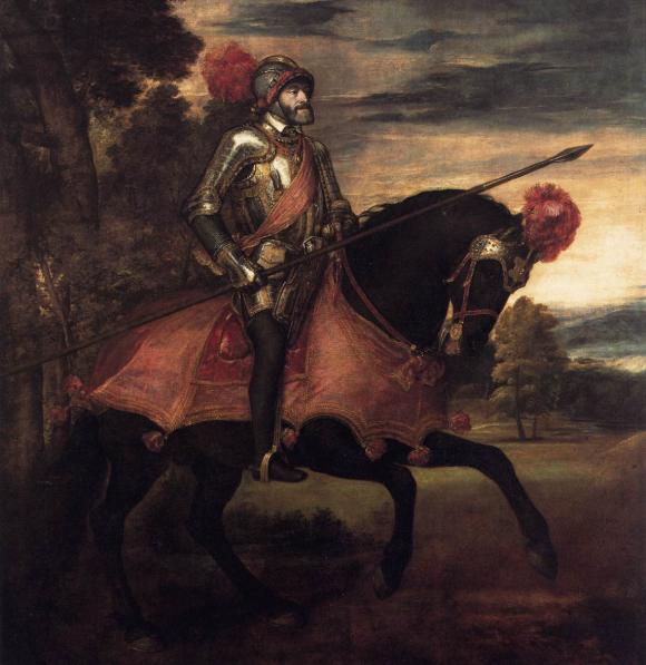 L'empereur Charles Quint par Le Titien