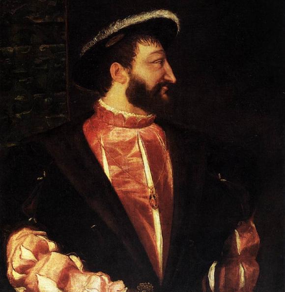 Le roi François Ier par Le Titien
